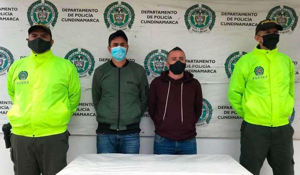 Dos capturados por el homicidio de un hombre en Zipaquirá