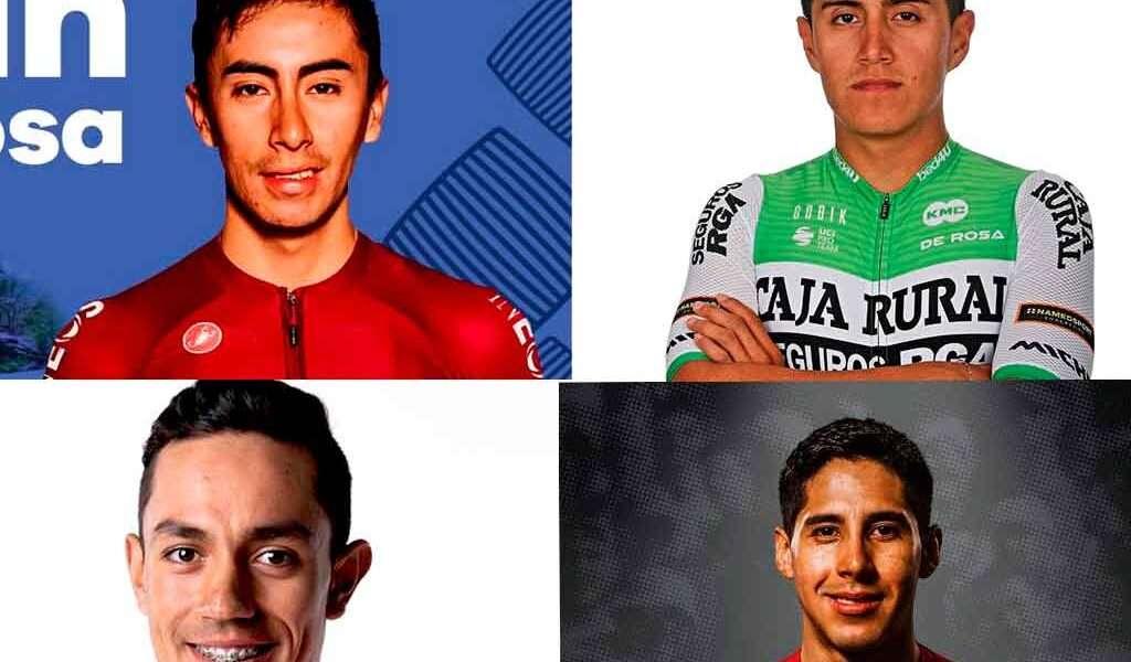 4 ciclistas de Cundinamarca estarán en la Vuelta a España