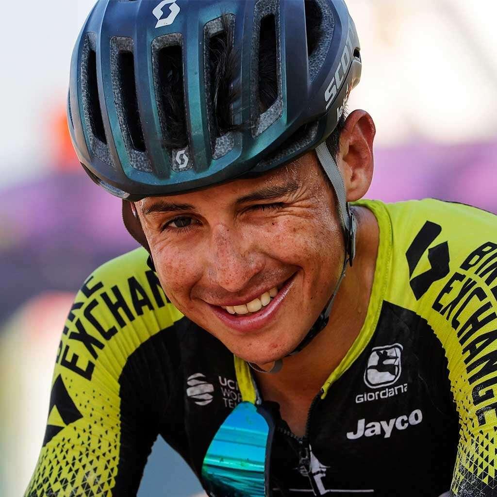 Esteban Chaves el mejor colombiano en la Vuelta a España
