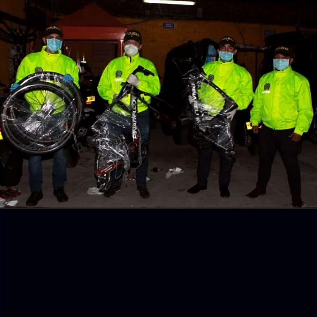 Policía de Cundinamarca confirmó la recuperación de las bicicletas de Brandon Rivera