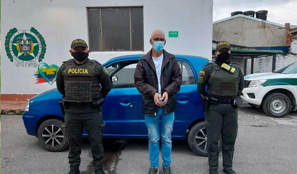 Capturado en flagrancia ladrón de vehículo en Zipaquirá