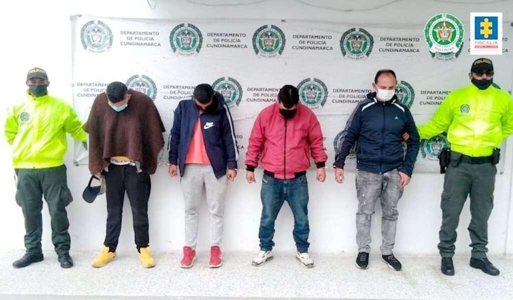 A la cárcel otros 4 sujetos por el robo de un taller en Zipaquirá
