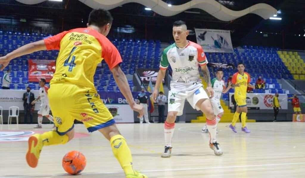 Zipaquirá le ganó al favorito Ángeles en Superliga de micro
