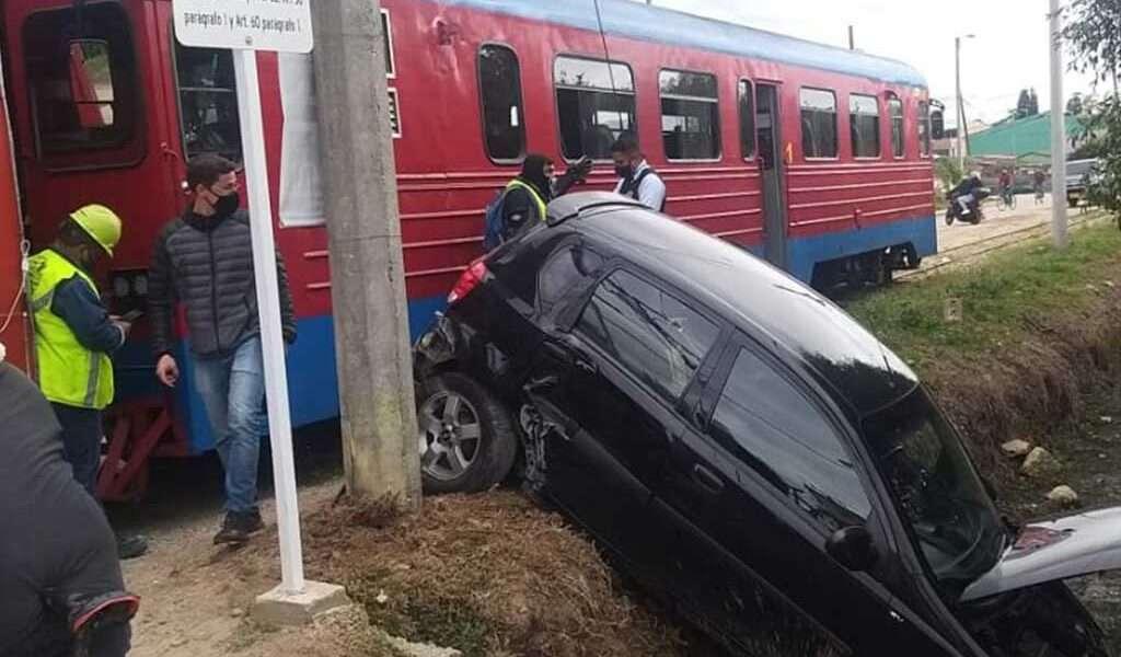 El Turistrén tuvo accidente este sábado en Cajicá